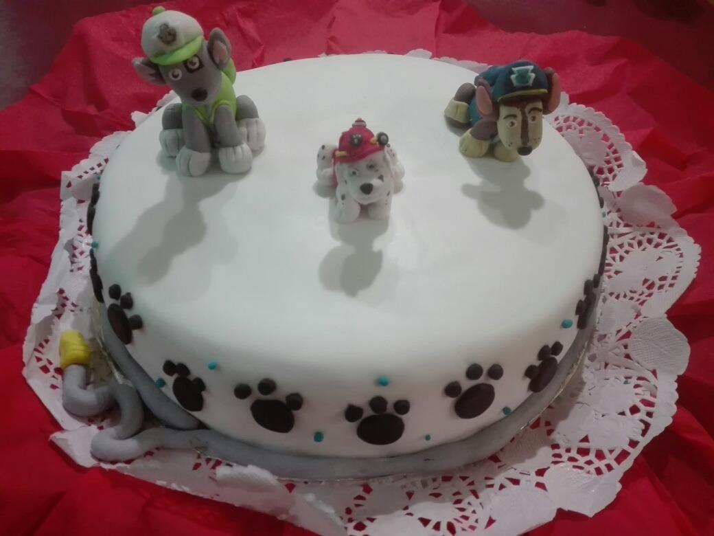 Torta Decorada Patrulla Canina Suenos Color Pastel