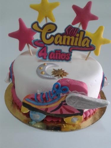 torta decorada soy luna