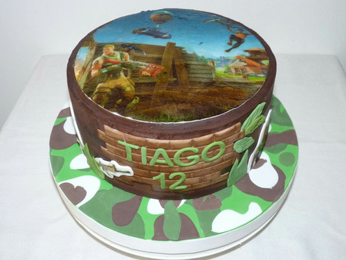 torta fortnite cumpleaños infantil tematica