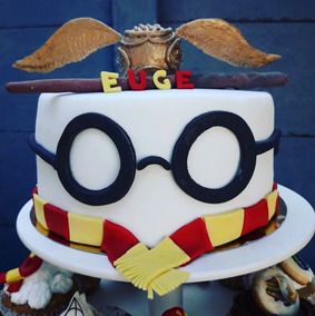 Torta Harry Potter Artesanal Cupcakes Cookies Brownies