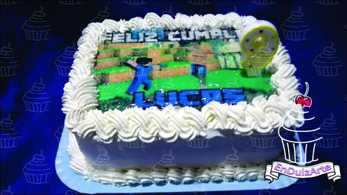 torta infantil, cumpleaños. con lamina comestible