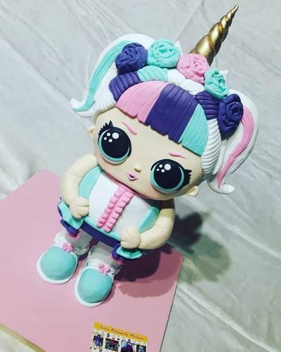 torta lol unicorn 3d