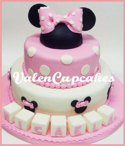 torta minnie cupcakes minne cookies zona oeste