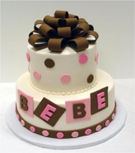 torta para baby shower 30 personas