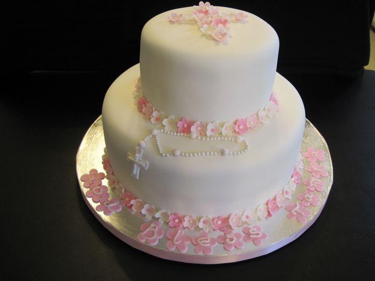 tortas de tres pisos para comunion