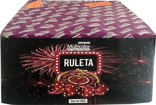 torta ruleta pirotecnia fuegos artificiales
