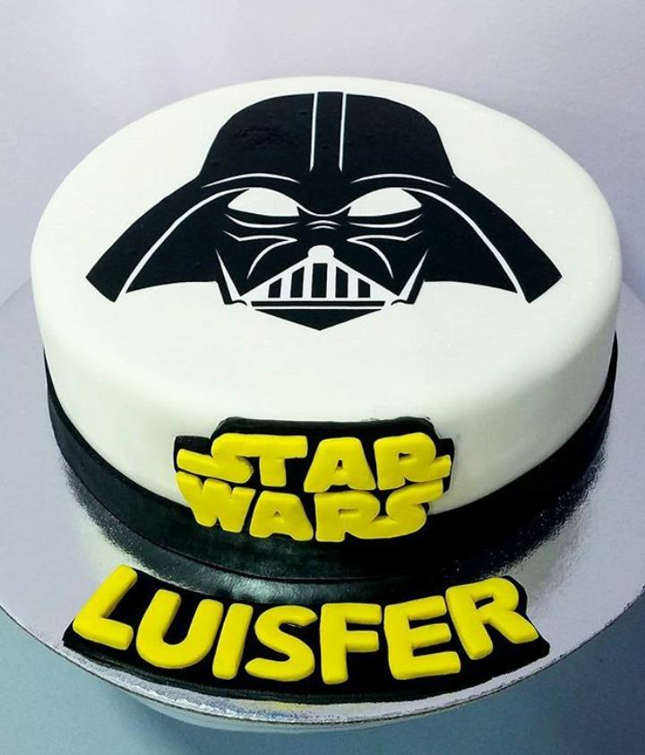 Torta Star Wars Cumpleanos Dia Del Padre S 85 00 En Mercado Libre