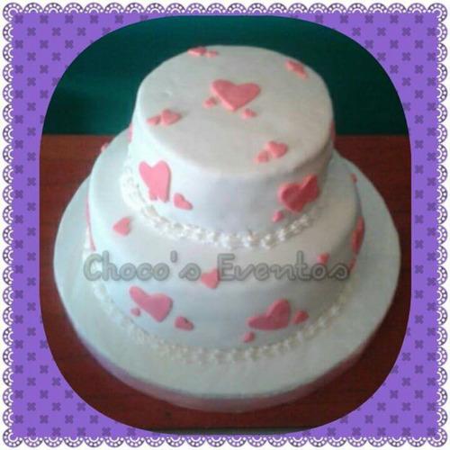 tortas artesanales corazones