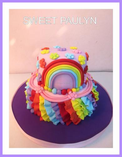 tortas artesanales decoradas mi litle pony