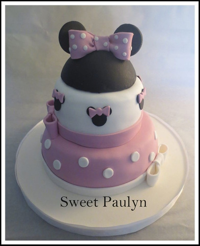tortas artesanales decoradas minnie sweet paulyn
