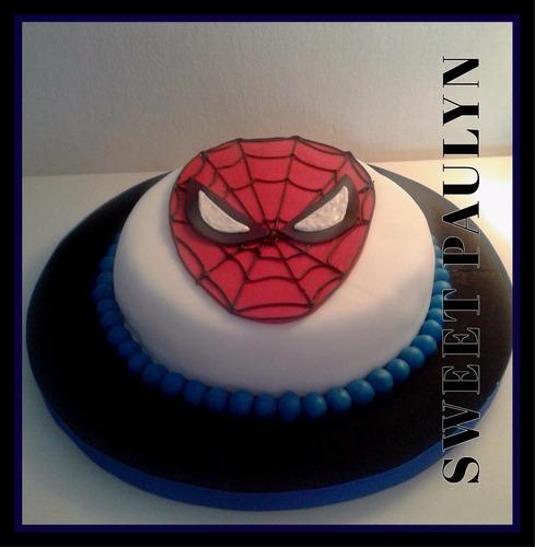 tortas artesanales spiderman avengers vengadores