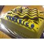 Torta De Cumpleaños Futbol Peñarol Nacional Uruguay
