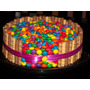 Exquisita Torta De Rocklets Ideal Para Tu Fiesta $350 Kilo