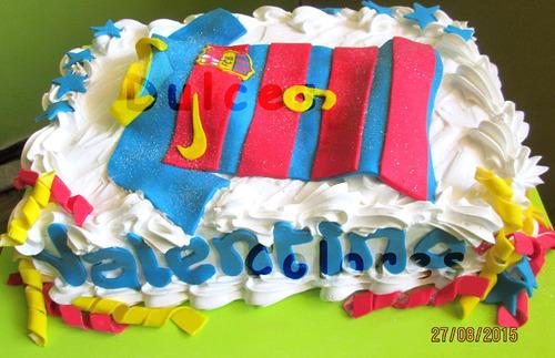 tortas cumpleaños infantiles merengue cuadros futboll