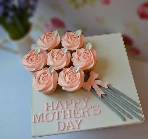 tortas, cupcakes y más día de la madre