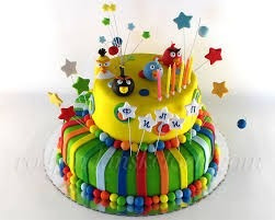 tortas de cumpleaños fondant a domicilio