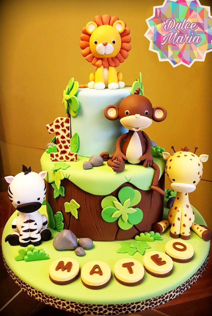 Tortas De Cumpleaños Safari 45 Porciones Consulta Antes ...
