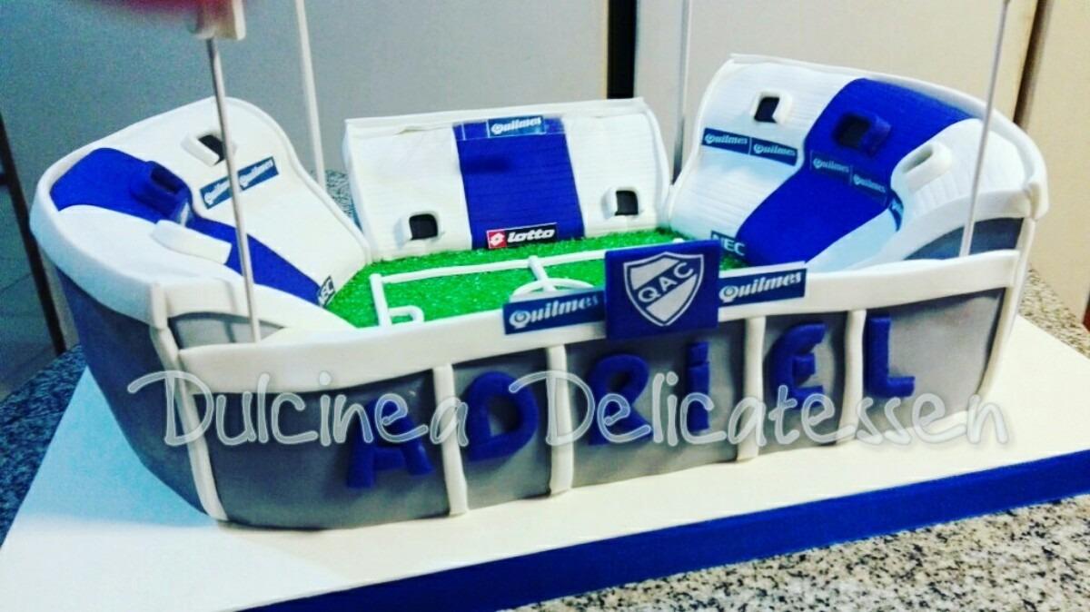 Tortas Decoradas Artesanales Canchas De Futbol