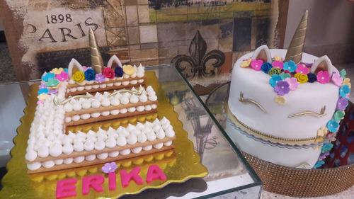 tortas decoradas cupcakes decorados ponquecitos unicornio