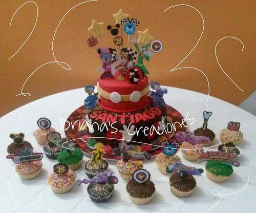 tortas decoradas cupcakes gelatinas mini gelatinas galletas
