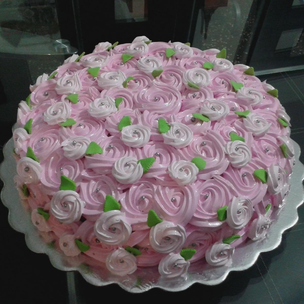 Tortas Decoradas En Crema Merengue Y Fondant