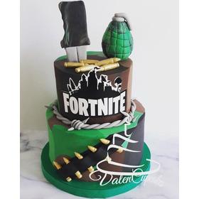 Tortas Decoradas Fortnite Cupcakes Y Cookies