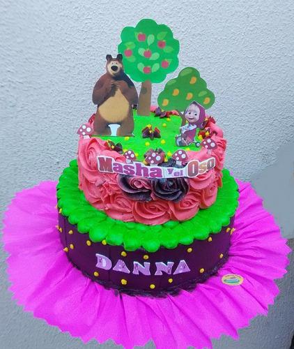 tortas decoradas, gelatinas, cupcakes 3d