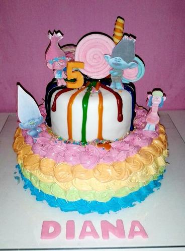 tortas decoradas, gelatinas, pasapalos dulces y salados