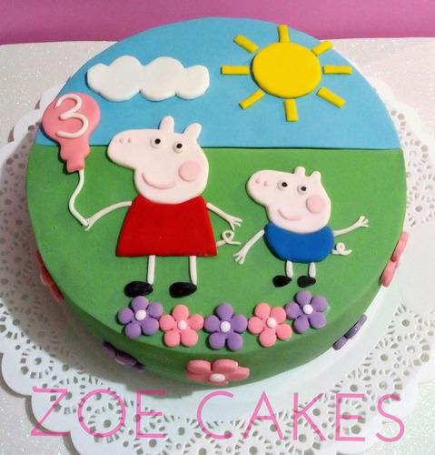 tortas decoradas, infantiles, cumpleaños, bautismo, comunión