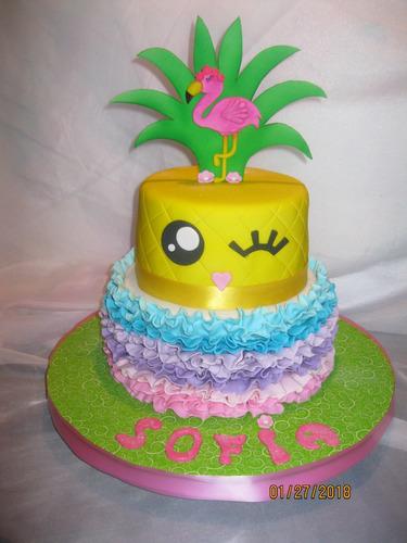 tortas decoradas infantiles galletas y gelatinas