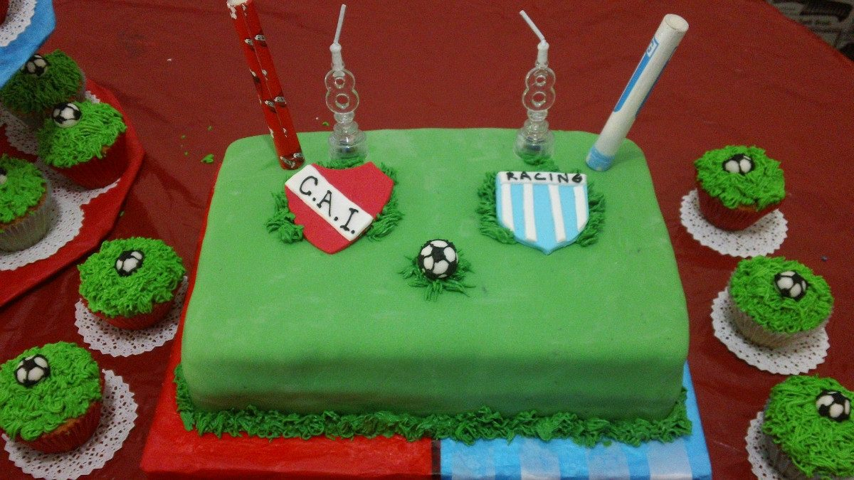 Tortas Decoradas Infantiles Y Adultos De Futbol
