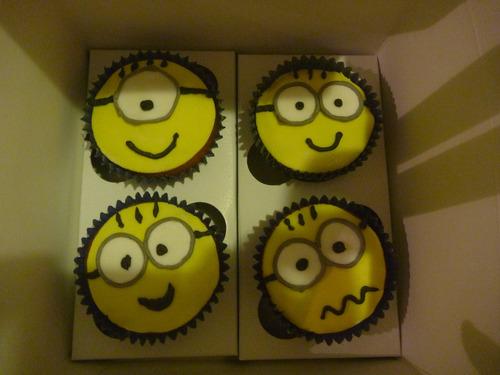 tortas decoradas - minions de mi villano favorito