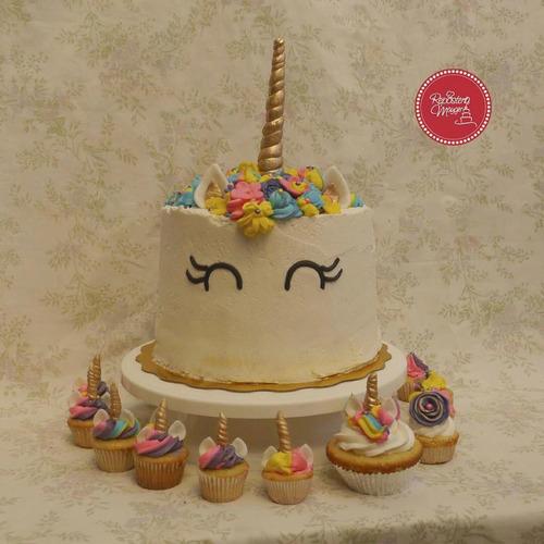 tortas decoradas - personalizadas - ¡gratis minicupcake!
