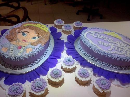 tortas decoradas y gelatinas infantiles de de 25 porciones