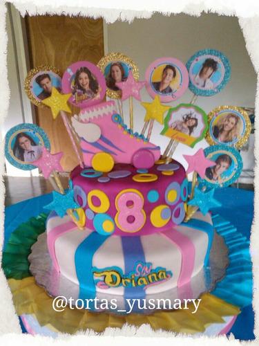 tortas decoradas y mini postres para fiestas y eventos!!!
