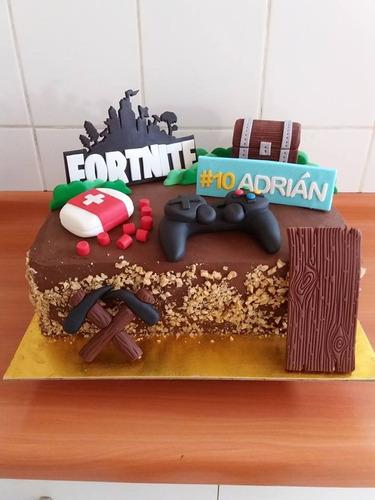 tortas fortnite, mario, minecraft, roblox ..todos los juegos