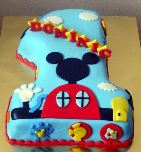 Tortas Infantiles Artesanales Mickey Mouse - $ 550,00 en Mercado Libre