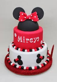 Tortas Infantiles De La Minie Mouse S 60 00 En Mercado