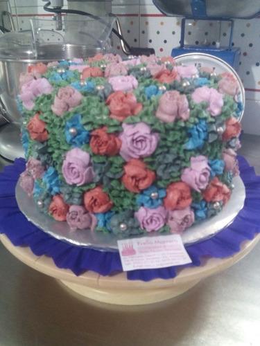 tortas infantiles decoradas con buttercream