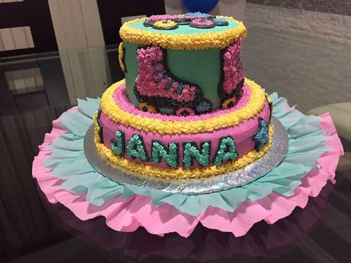 tortas infantiles decoradas con merengue ygelatinas x kilos