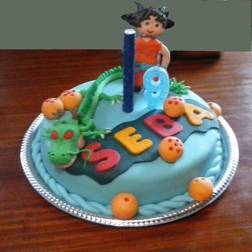 tortas infantiles dragon ball - minecraft - dora - dinos