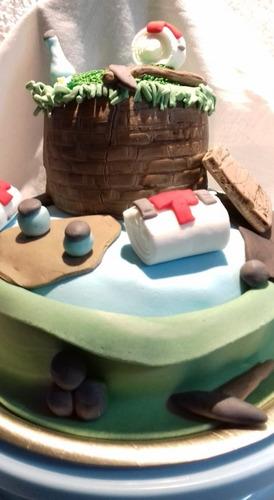 tortas infantiles fortnite, mesas dulces, cumpleaños,