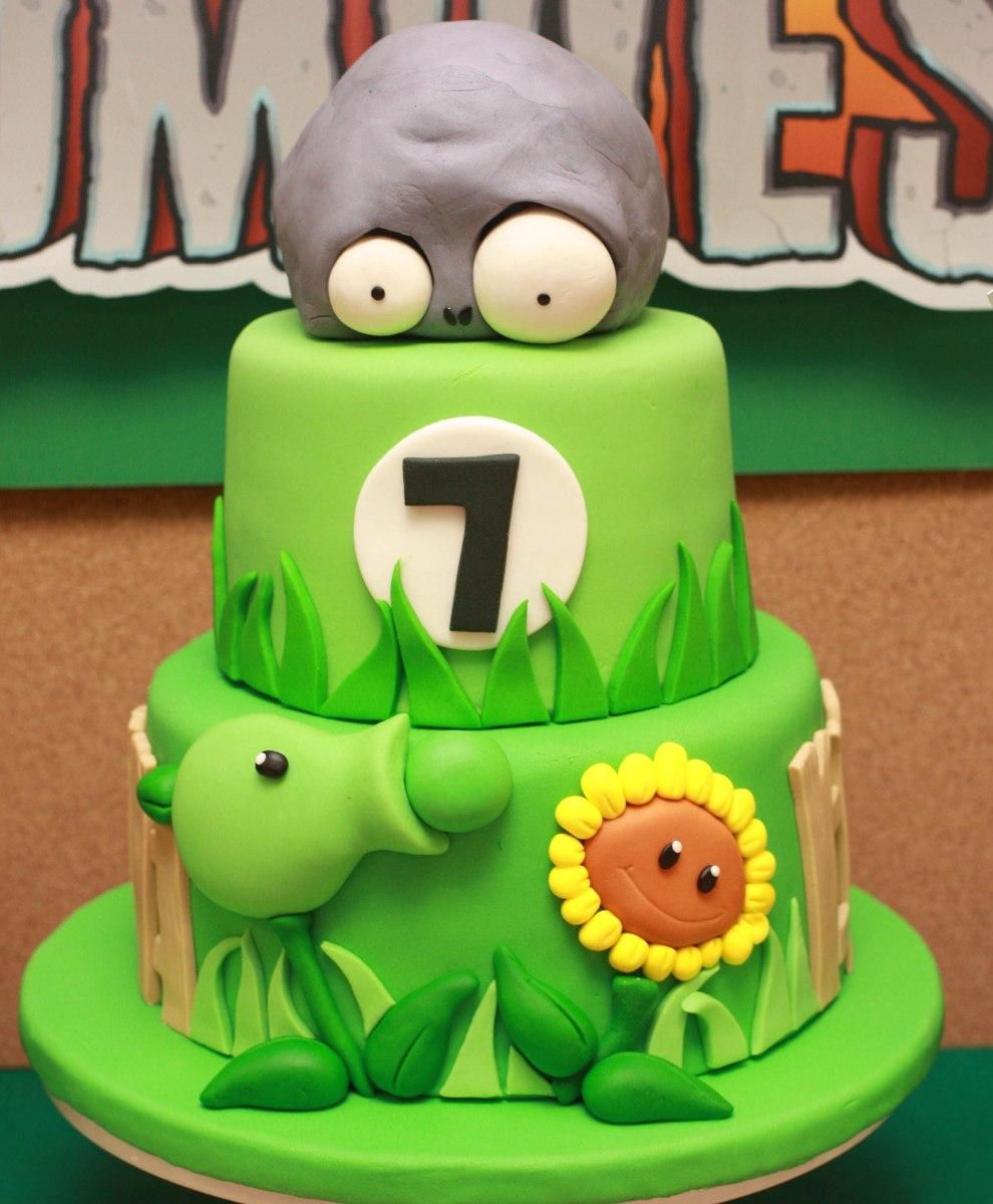 Planys Vs Zombies Cakes