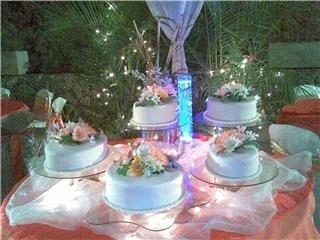 tortas para bodas, primera comuniòn, bautizos y 15 años