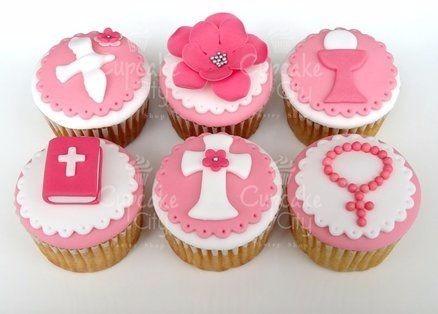 tortas primera comunion mini y cup cake