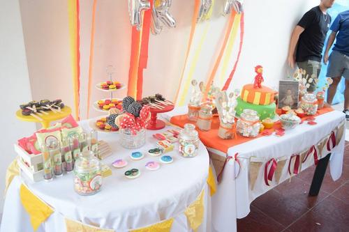 tortas, souvenirs - candy bar