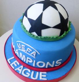 Tortas Temática Futbol Tu Equipo Favorito Champions League