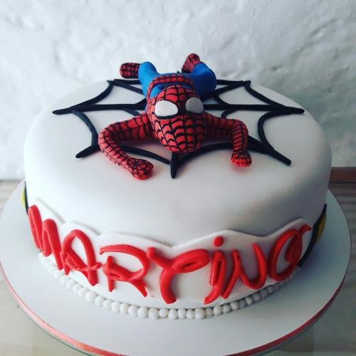 tortas tematicas frozen, hombre araña, minnie y mucho mas