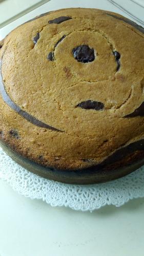 tortas y cupcakes de vainilla, chocolate o marmoleados