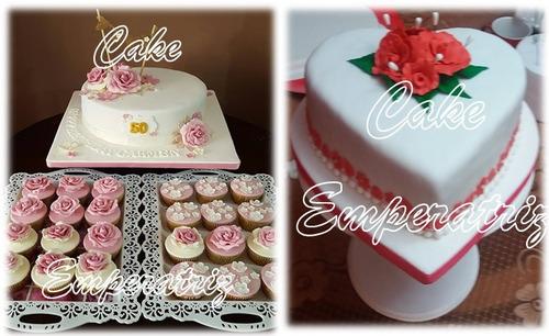 tortas y cupcakes - decoraciones de fiestas i